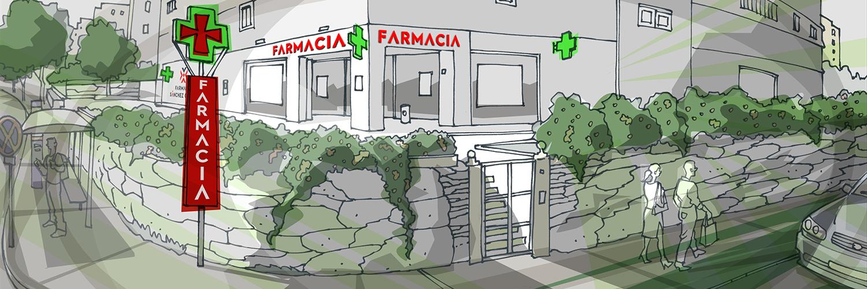 Fachada farmacia Sánchez García